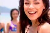 """""""Chết ngất"""" với ảnh Hồ Ngọc Hà đen nhẻm, làm mẫu bikini 15 năm trước"""