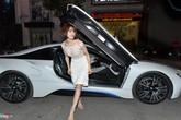 Diệp Lâm Anh diện trang phục kém tinh tế đi dự show thời trang