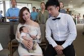 Vợ Đan Trường: 'Chồng tôi qua lại giữa hai nước để phụ tôi chăm con'