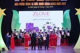"""Zlove nhận giải vàng """"sản phẩm vì sức khỏe cộng đồng"""" 2017"""