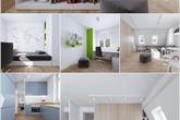 Biến căn hộ áp mái thành không gian sống cao cấp