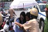 Clip diễn viên Ngọc Lan lớn tiếng với CSGT sau vi phạm giao thông