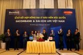 Dai-ichi Life Việt Nam và Sacombank ký kết hợp đồng đại lý bảo hiểm độc quyền dài hạn 20 năm