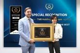 TNR Holdings Việt Nam nhận cú đúp giải thưởng bất động sản Châu Á