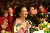 Siêu mẫu Thúy Hằng nổi bật cùng diễn viên Hoàng Xuân, Thân Thúy Hà trên ghế nóng giám khảo The Beauty 2017