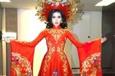 Trang phục dân tộc của Huyền My ở Hoa hậu Hòa bình bị tố sao chép
