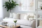 3 ý tưởng trang trí tuyệt đẹp dành cho căn hộ màu trắng