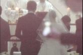 Cô dâu Kim Tae Hee diện váy ngắn, sánh vai chú rể Bi Rain