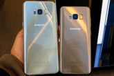 Ảnh thực tế bộ đôi Galaxy S8 và S8+