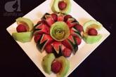Bày mâm cỗ tết Đoan Ngọ đẹp mắt với hoa quả đang mùa