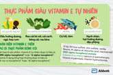Trẻ ăn gì để đủ vitamin E tự nhiên giúp não bộ phát triển?
