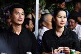 Thân Thúy Hà, Quốc Cường đến viếng ba Phước Sang lúc tối muộn