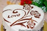 """Cách làm bánh gato trái tim tặng """"người ấy"""" ngày Lễ tình nhân"""