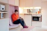 Sống tiện nghi kiểu Anh trong ngôi nhà 13 m2