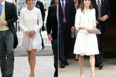 Mặc đẹp là thế, nhưng Công nương Kate cũng từng có vô số màn đụng độ khó phân cao thấp với 1 vị Hoàng hậu