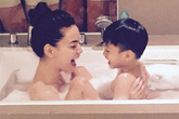 Mỹ nhân Việt khoe ảnh nude trong bồn tắm