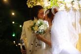Kelvin Khánh ngọt ngào hôn Khởi My trong đám cưới