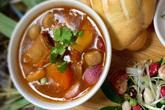 Sườn nấu đậu ấm nóng ngày lạnh