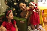 Hoa hậu Hương Giang lần đầu khoe con gái thứ hai