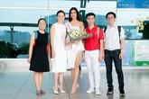Nguyễn Thị Loan mang 6 vali hành lý nặng hơn 200kg đi thi Miss Universe 2017