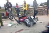 Quảng Ninh: Đâm vào xe máy, tài xế container bỏ chạy