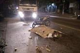Va chạm với xe container, một người đàn ông Trung Quốc tử vong tại Hải Phòng