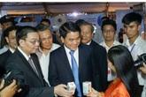 Hình ảnh Chủ tịch UBND Hà Nội và Bộ trưởng Bộ KHCN bị sử dụng để quảng cáo thực phẩm chức năng