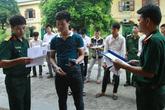 Sơ tuyển vào các trường đại học quân đội bắt đầu từ ngày 1/3