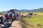 Người dân phá cửa cứu 3 nạn nhân kẹt trong cabin xe tải