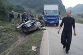 Tai nạn giao thông thảm khốc trên Quốc lộ 6, 4 người tử vong tại chỗ
