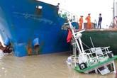 Hải Phòng: Mất lái, đâm chìm tàu đầu kéo