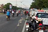 Nữ cán bộ đăng kiểm tử vong trên quốc lộ 1