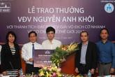 Dược phẩm Nhất Nhất đầu tư gần 1,5 tỷ để phát triển tài năng của kỳ thủ Nguyễn Anh Khôi