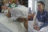 Lời kể của người mẹ cùng con trai bị tạt nước sôi khi ngủ