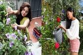 Mỹ nhân Việt bình yên trong khu vườn ngập tràn sắc hoa bỏ lại sau lưng những ồn ào showbiz