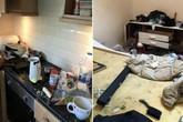 Trốn tiền nhà, bà mẹ đơn thân còn để lại cả núi rác khiến chủ nhà tốn trăm triệu sửa chữa