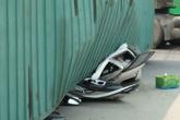 Xác định nguyên nhân ban đầu và danh tính 2 nạn nhân vụ container lật nghiêng, đè bẹp xe ô tô 7 chỗ