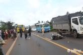Xe biển xanh gây tai nạn, 2 cô giáo tử vong