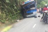 Xe chở học sinh tham quan gặp nạn ở Tam Đảo: 2 phụ huynh đã tử vong
