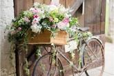 Những ý tưởng trang trí vườn tuyệt hay với xe đạp cũ bạn sẽ rất tiếc nếu biết quá muộn