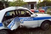 Quảng Ninh: Xe CSGT gặp nạn khi truy đuổi tội phạm ma tuý