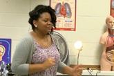 Giáo viên hát rap dạy học sinh về hệ tuần hoàn