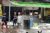 Vụ cháy quán bia ở Nguyễn Hữu Thọ: Cô bé xấu số đang ngủ nên không kịp chạy thoát