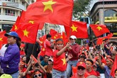 Cả nước đã bày tiệc mừng U23 Việt Nam