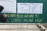Hà Nội: Rét dưới 9 độ C, nhiều trường cho học sinh nghỉ học
