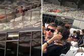 Cặp nam nữ 'mây mưa' ở sân vận động trong lễ hội âm nhạc