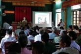 Hương Khê, Hà Tĩnh: Tập huấn về công tác dân số trong tình hình mới