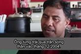 Người đàn ông Indonesia sống sót qua hai trận sóng thần