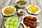 Bữa cơm hơn 90 nghìn đồng vừa ngon lại đủ chất cho gia đình 3-4 người ăn
