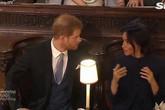 Vợ chồng Meghan - Harry bị nghi cãi nhau trong đám cưới em họ